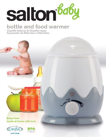 Salton Baby CANSA Seal Bottle and Food Warmer