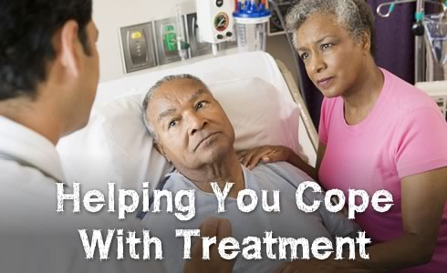 Helping you cope with treatment
