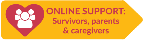 Online support for survivors and family and caregivers