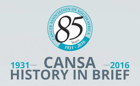 CANSA History 1931 - 2016