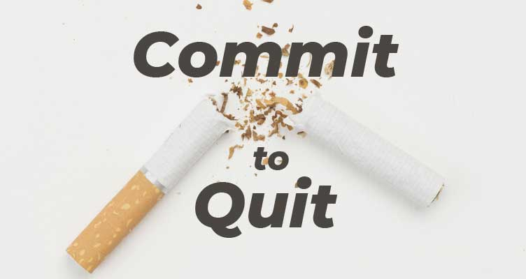 Commit to quit smoking